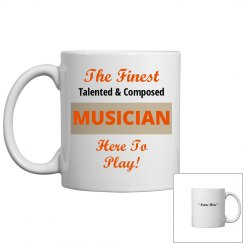 Talented & composed muscian