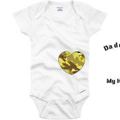 Baby's Army Onesie