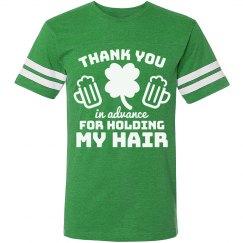 Thank You Irish Drinking Jersey