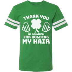 Thank You Irish Drinking Jersey