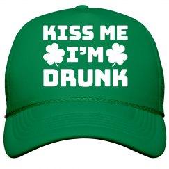 Irish Kiss Me Drunk Snap Back