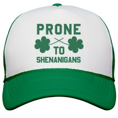 Irish Prone To Shenanigans