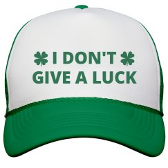 Irish Don't Give A Luck