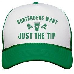Irish Bartender Wants The Tip