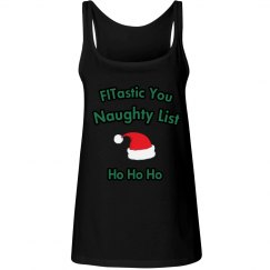Naughty List Red Tank