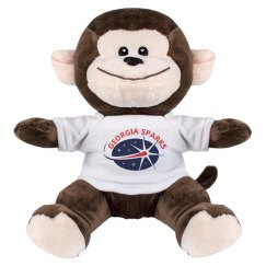 GSC8 INCH MONKEY STUFFED ANIMAL