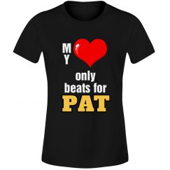 Heart beats for Pat