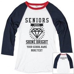 Shine Bright Seniors Signing Tee