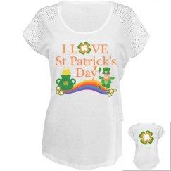 I love St Patrick's Day