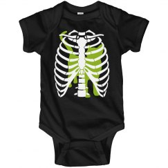 Baby Swallowed the Cat Funny Baby Halloween Costume