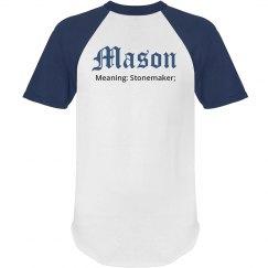 Mason personalized shirt