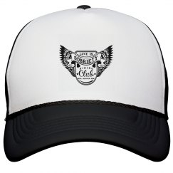 LOVE IN SOBRIETY LOGO TRUCKER HAT
