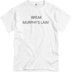 BML Mens White T-Shirt