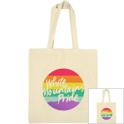 White Mountains Pride Canvas Bag