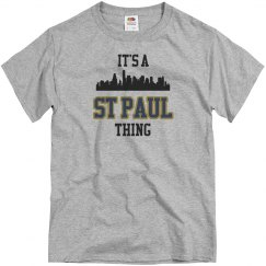 It's a st paul thing