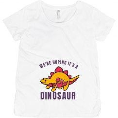 Hoping It's A Dinosaur