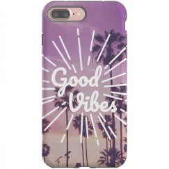 Good Vibes Custom iPhone Case