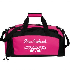 Custom Name Dance Ballet Bag