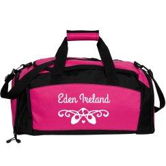 Custom Name Dance Ballet Bag