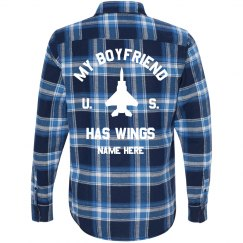 US Air Force My Boyfriend Has Wings