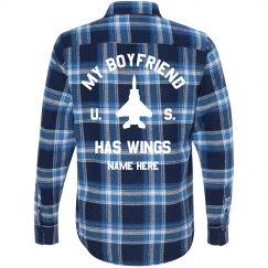 US Air Force My Boyfriend Has Wings