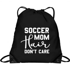 Soccer Mom Hair Soccer Bag