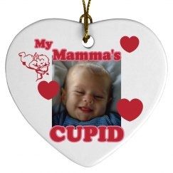 Mamma's Cupid Ornament