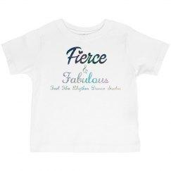 Toddler Feirce & Fabulous