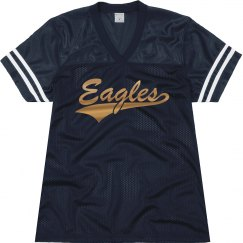 Oral Roberts golden eagles shirt.