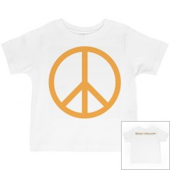Bliss In Me Toddler Peace Tee