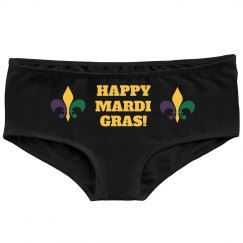 Happy Mardi Gras Panties