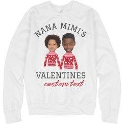 Custom Grandparent Valentine's Gift
