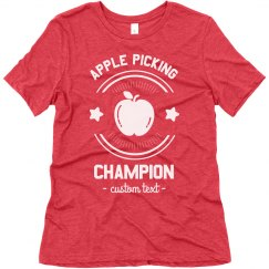 Apple Picking Champion Tee