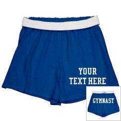 Custom Gymnast Shorts For Practice