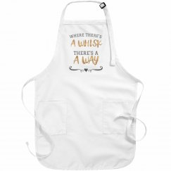 Metallic Cute Apron Pun