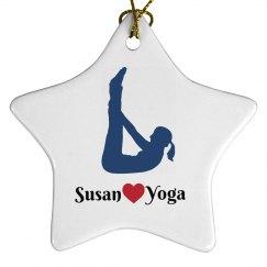 Yoga Ornament Keepsake