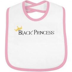 Black Princess Bib