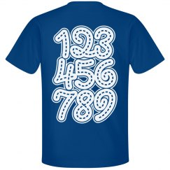 Number Tracing Play Tee