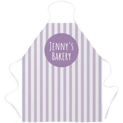 Custom Bakery Candy-Stripe Apron