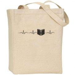 Book heart beat, bag
