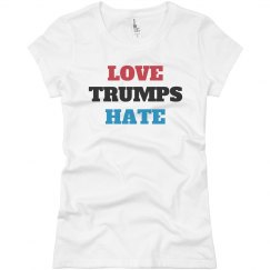Love Trumps Hate Anti-Trump Tee