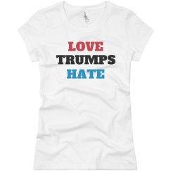 Love Trumps Hate Anti-Trump Tee