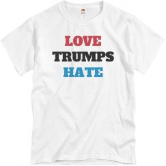 Love Trumps Hate Political Shirt