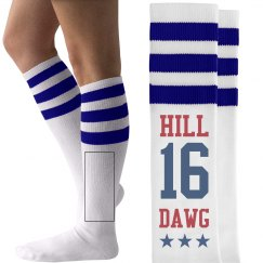 Hill Dawg Socks Hillary Clinton