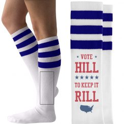 Vote Hillary Clinton 2016 Socks