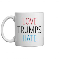 Love Trumps Hate Hillary Clinton
