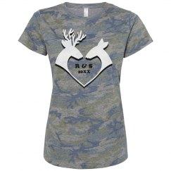 Her Cameo Deer Heart