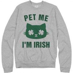 Pet Me I'm Irish St Patricks Day