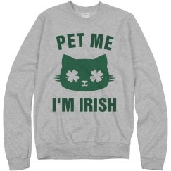 Pet Me I'm Irish St Patricks Day