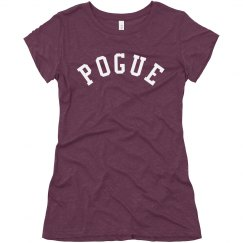 Pogue Outer Banks Fan Text Tee